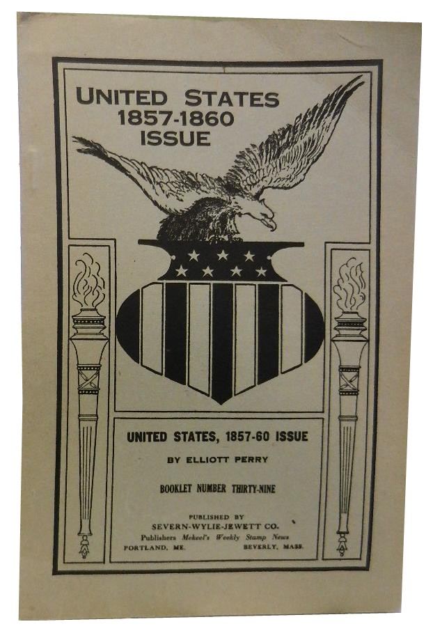 United States 1857-1860 Issue. Elliott Perry.