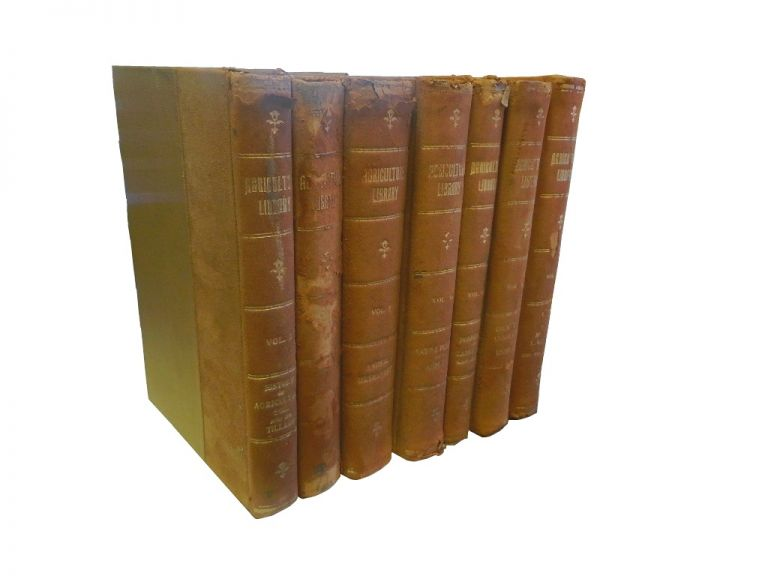 Library of Agriculture (7 of 8 volumes). Hubert M. Skinner, A. L. McCredie.