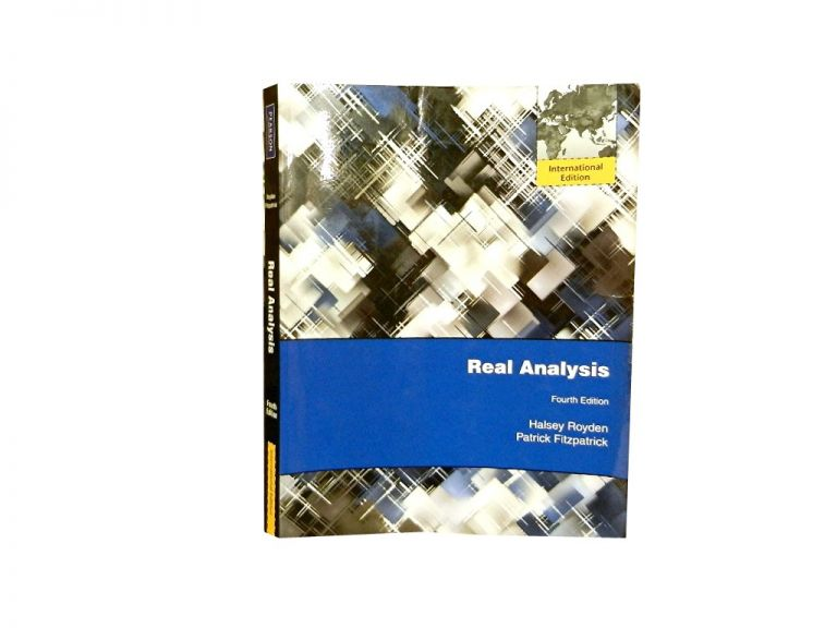Real Analysis. H. L. Royden, P M. Fitzpatrick.