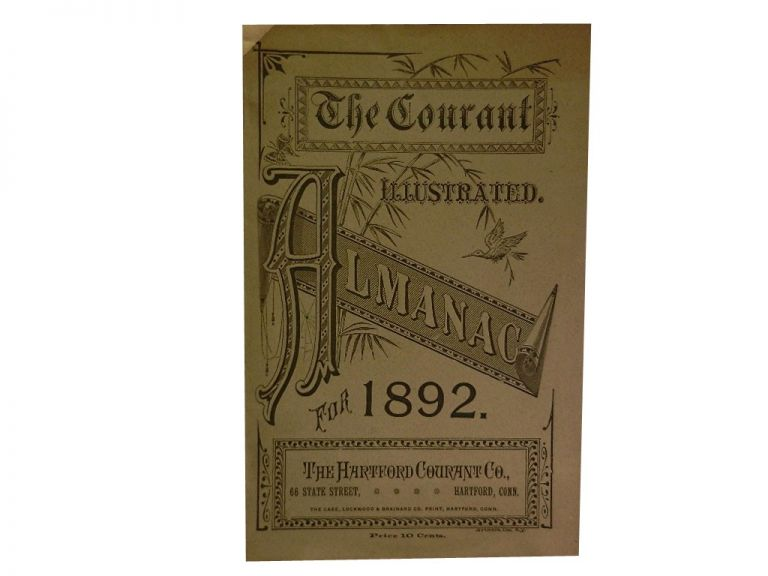 The Courant Illustrated Almanac For 1892.