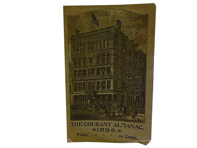 The Courant Almanac for the Year 1894.