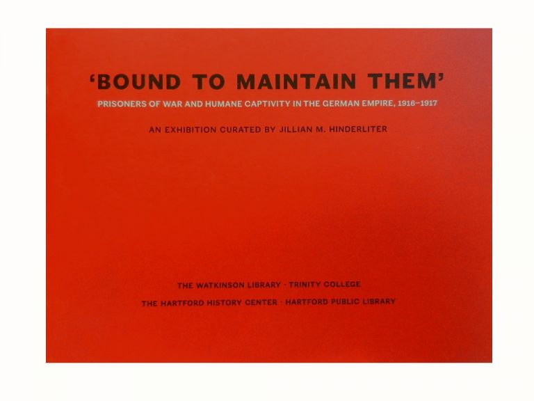 'Bound To Maintain Them':; Prisoners of War and Humane Captivity in the German Empire, 1916-1917
