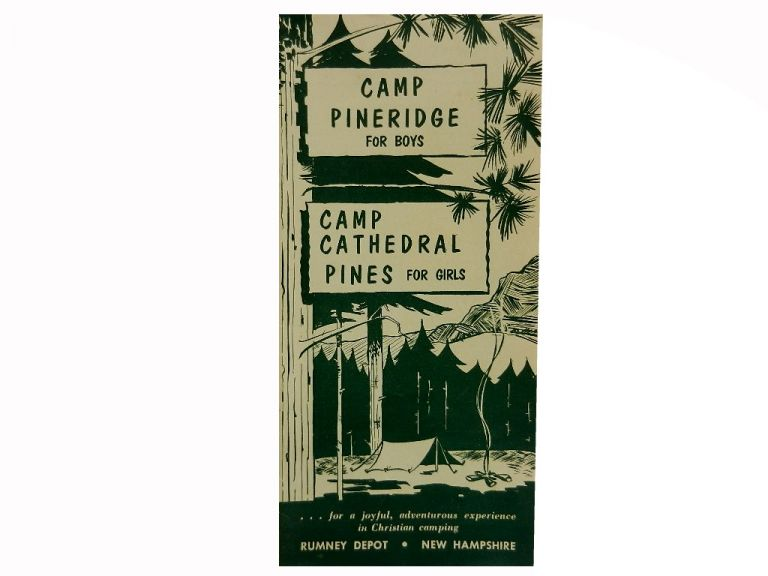 Camp Pineridge for Boys / Camp Cathedral Pines for Girls.