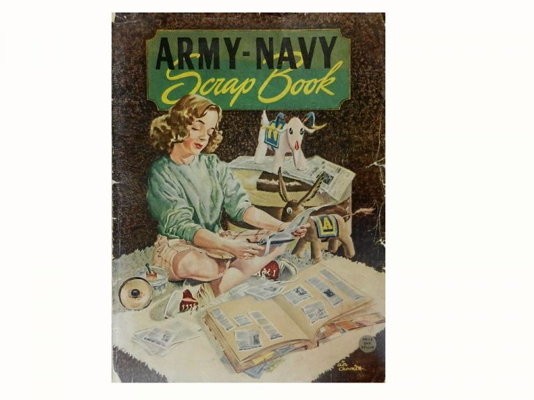 Army-Navy Scrapbook November 29, 1947 at Philadelphia Municipal Stadium.