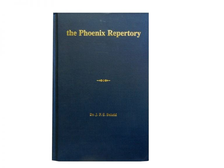 The Phoenix Repertory Vol. 2. Dr. J. P. S. Bakshi.