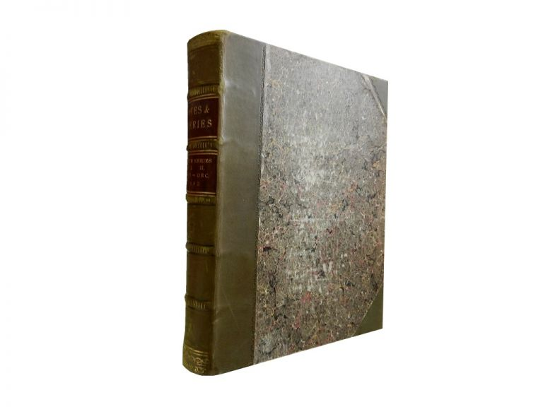 Notes and Queries Eighth Series - Volume Second, July - December 1892:; A Medium of Intercommunication for Literary Men, General Readers, Etc.