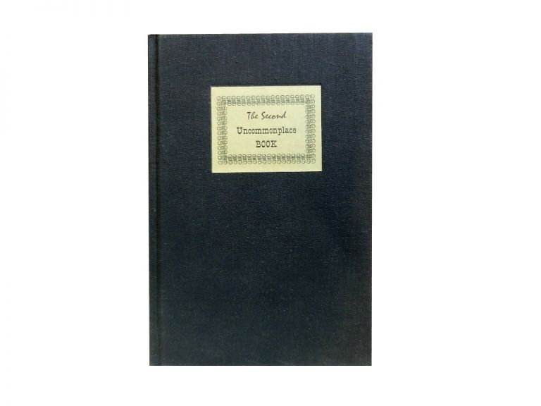 The Second Uncommonplace Book of the New York Chappel.
