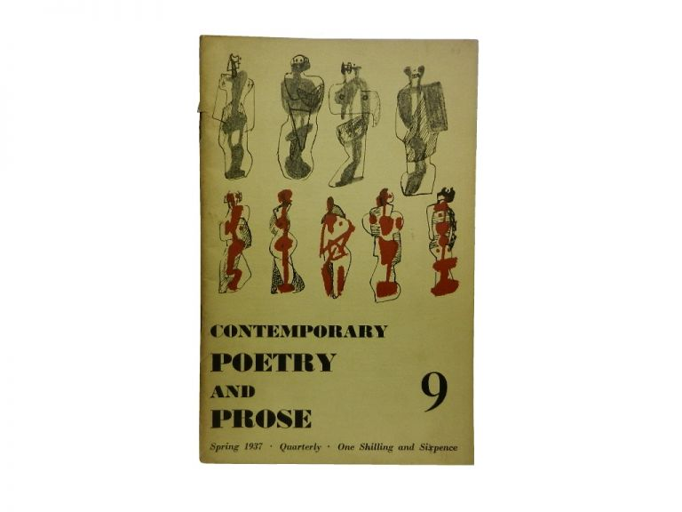 Contemporary Poetry and Prose 9, Spring 1937.