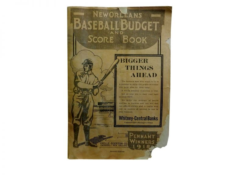 New Orleans Baseball Budget and Score Book.