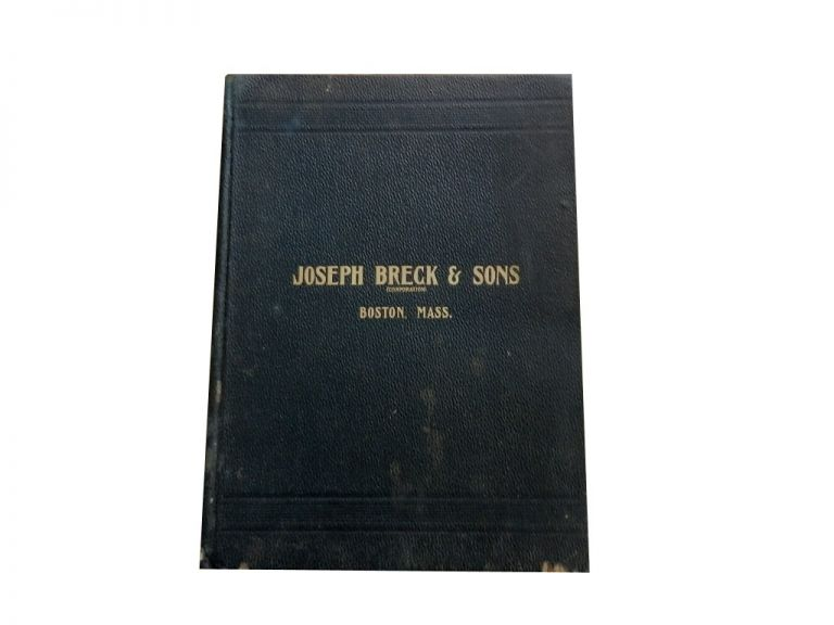 Illustrated Catalogue: Agricultural Hardware, Implements, Machines and Woodenware. Joseph Breck, Sons.