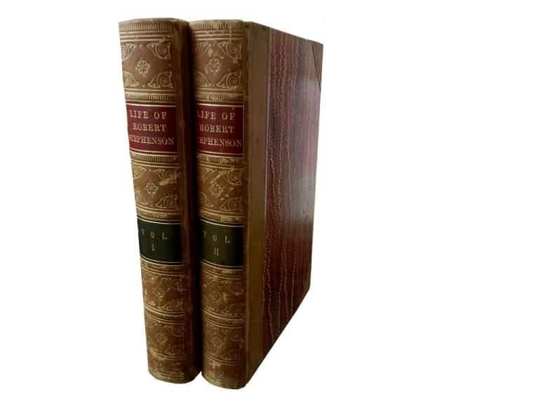 The Life of Robert Stephenson, F. R. S., etc etc, Late President of the Institution of Civil Engineers, 2 vols. J. C. Jeaffreson, William Pole.
