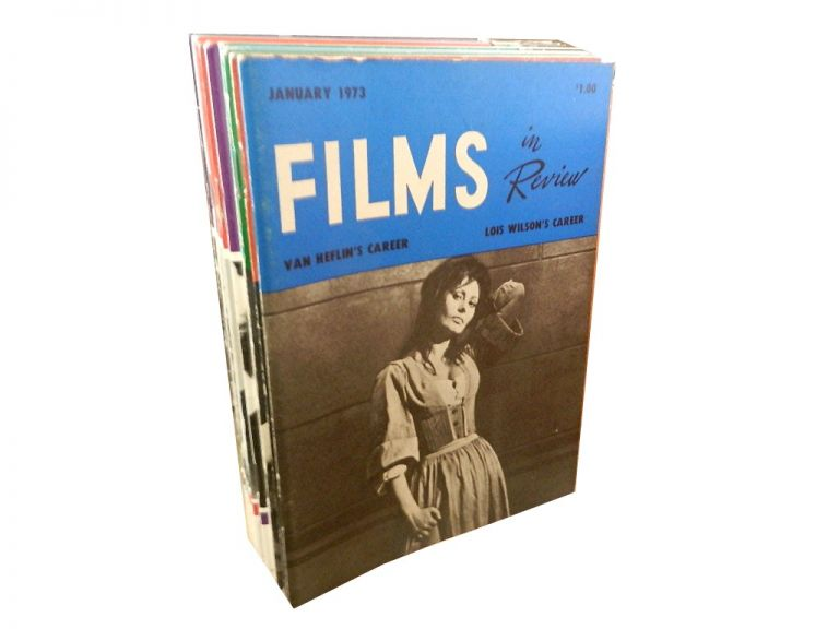 Films in Review, 12 vols. Film.