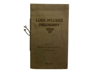 Luke McLuke's Philosophy. ephemera