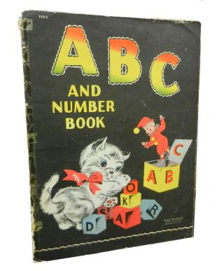 ABC and Number Book. Children's