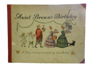 Aunt Brown's Birthday. Elsa Beskow