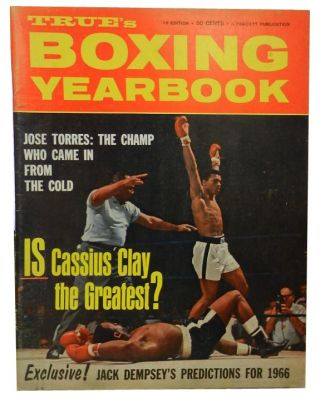 True's Boxing Yearbook, 1966 Edition. Lee Greene
