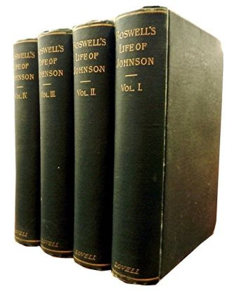 The Life of Samuel Johnson, LL.D (4 vols). James Boswell