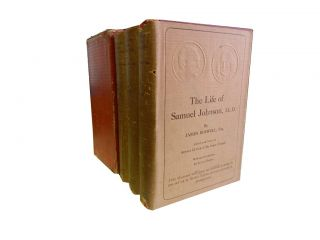 The Life of Samuel Johnson, LL.D. (3 vols). James Boswell