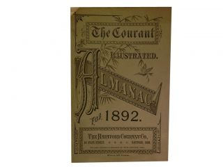The Courant Illustrated Almanac For 1892