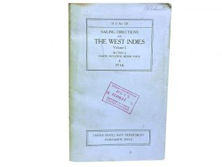 Sailing Directions for The West Indies Vol 1:; The Bermuda Islands, Bahama Islands and Greater...