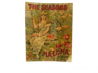 The Seasons:; Ma-Le-Na Booklet No. 117