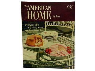 The American Home For June 1952, Vol. XLVIII, No. 1. Jean Austin