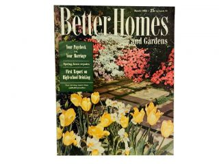 Better Homes and Gardens, March 1954, Vol. 32, No. 3. Hugh Curtis