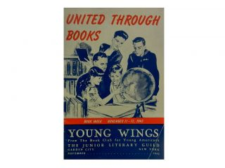 United Through Books:; Book Week November 11-17, 1945