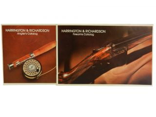 Harrington & Richardson (2 vols):; Angler's & Firearms Catalogs