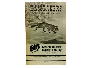 Hawbaker's Big General Trapping Supply Catalog, Seasons 1971 - 1972