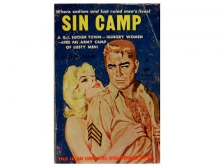 Sin Camp. Tony Calvano