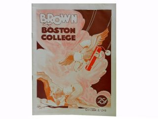 Brown Vs. Boston College October 6, 1945
