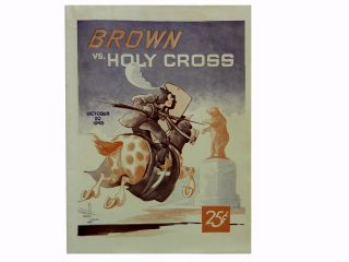 Brown Vs. Holy Cross October 20, 1945