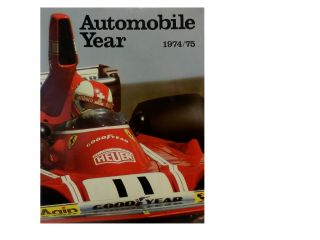 Automobile Year No. 22, 1974/75