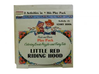 Peek and Boos Play Pack:; Little Red Riding Hood