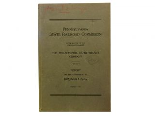 Pennsylvania State Railroad Commission:; In the Matter of the Complaints Against the Philadelphia...