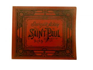 Souvenir Album of Saint Paul, Minn