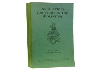 Instructions for Study in the Humanities (6 vols