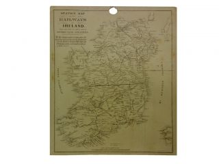 Station Map of the Railways in Ireland