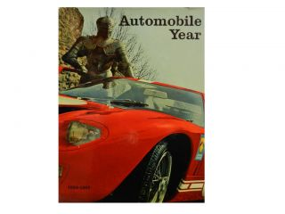 Automobile Year No. 14, 1966-1967. Carl L. Wagner