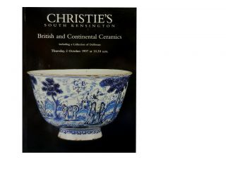 British and Continental Ceramics