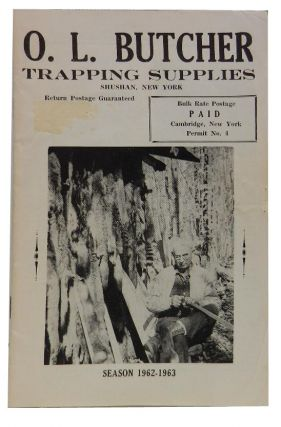 O. L. Butcher Trapping Supplies season 1962-1963