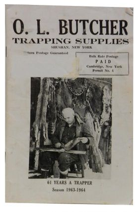 O. L. Butcher Trapping Supplies season 1963-1964