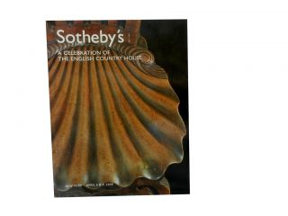 Sotheby's: A Celebration of the English Country House:; Including Furniture, Silver and Chinese...