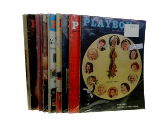 Playboy Vol. 4, 1957 (12 issues
