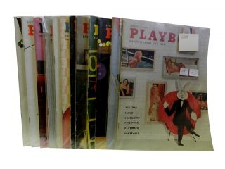 Playboy Vol. 5, 1958 (12 issues