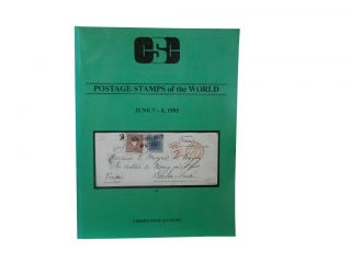 Cherrystone Auctions Postage Stamps of the World June 7-8, 1995