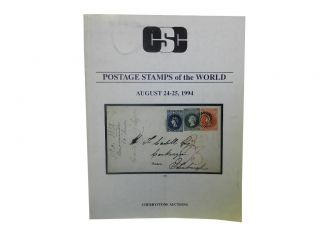 Cherrystone Auctions Postage Stamps of the World August 24 - 25, 1994