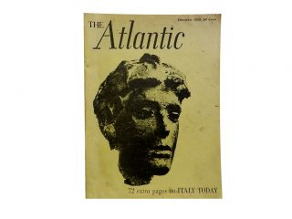 The Atlantic December 1958, Vol. 202, No. 6