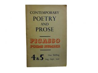 Contemporary Poetry and Prose 4 & 5, Aug. - Sept. 1936